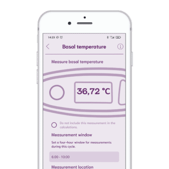 cyclotest mySense measured temperature