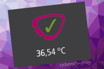 Taking your temperature with cyclotest myWay.