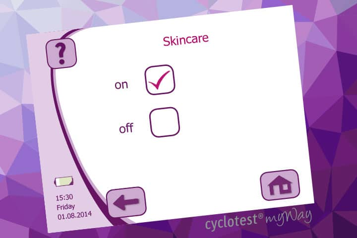 cyclotest myWay Skincare.
